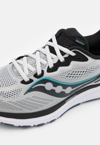 Saucony - RIDE 14 - Neutral running shoes - fog/black/storm - 5