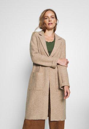 Manteau classique - beige melange