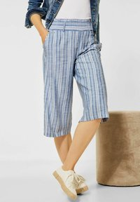 Street One - MIT WIDE LEGS - Trousers - blau - 1