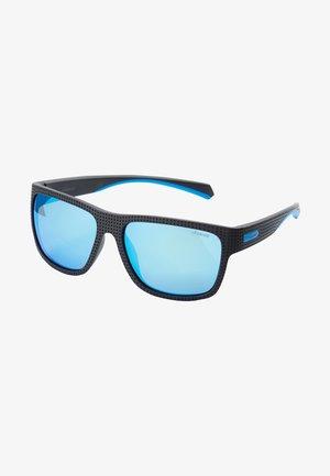 Sunglasses - black/turquoise