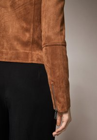 comma - Faux leather jacket - brown - 2