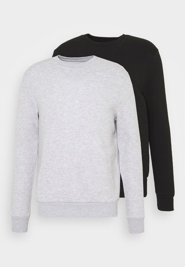 2 PACK  - Sweatshirts - black