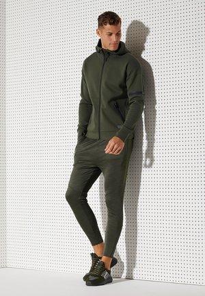 Zip-up hoodie - army khaki