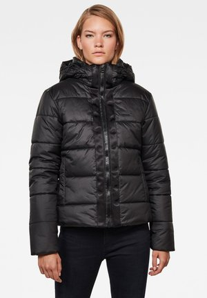 MEEFIC HOODED PADDED  - Winter jacket - dk black