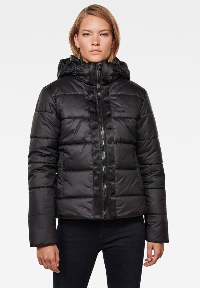 MEEFIC HOODED PADDED  - Winter jacket - dk black