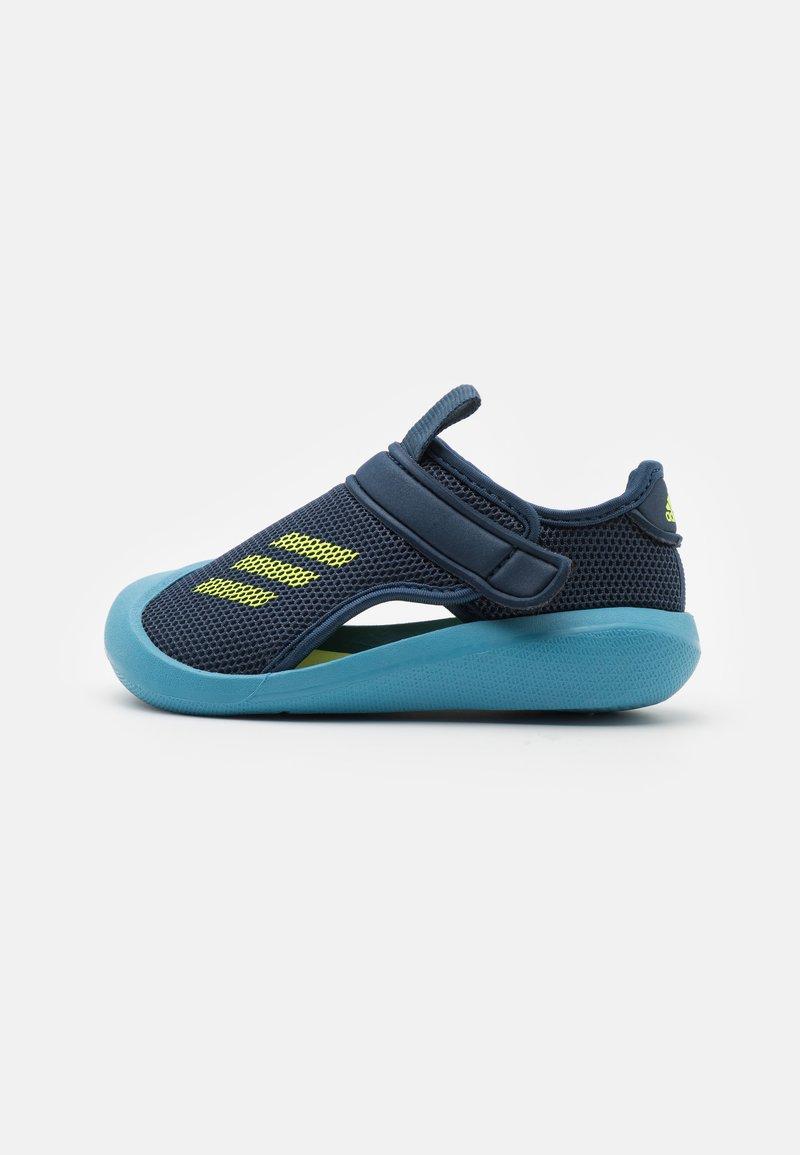adidas Performance - ALTAVENTURE UNISEX - Sandály do bazénu - crew navy/solar yellow/hazy blue