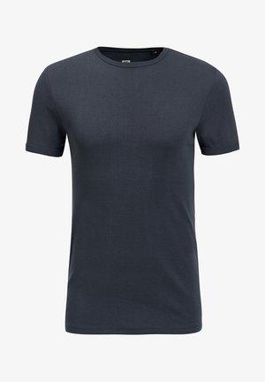 WE FASHION HEREN ORGANIC COTTON T-SHIRT - Basic T-shirt - navy blue