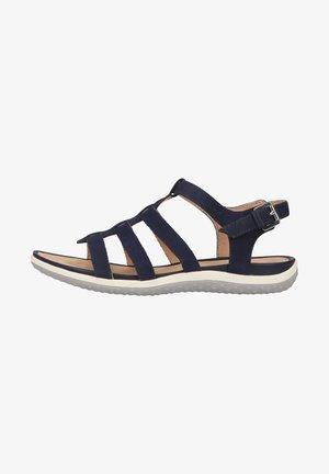 Walking sandals - blue c