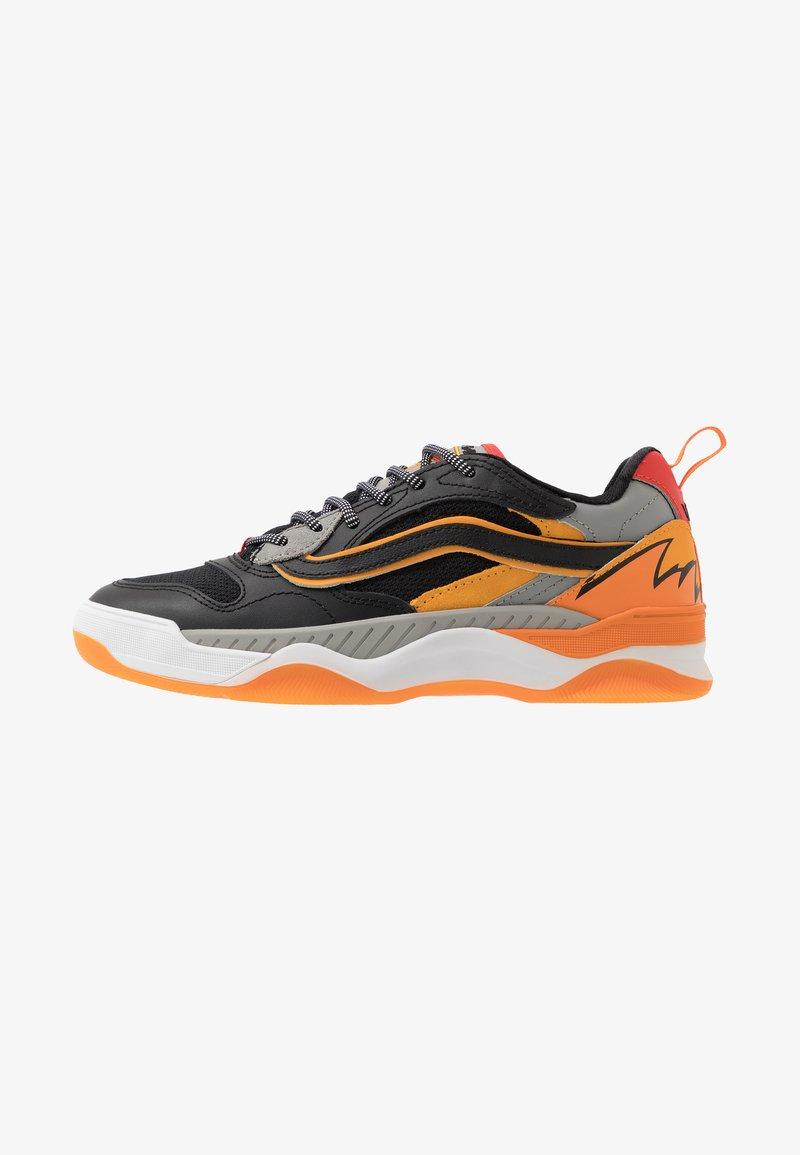 Vans - BRUX  - Skate shoes - black/drizzle