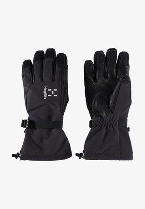 NIVA GLOVE - Gloves - true black/slate