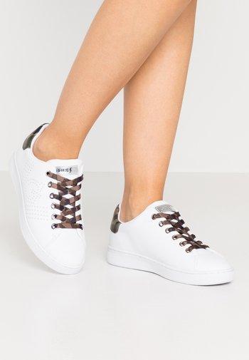 RANVO - Matalavartiset tennarit - white