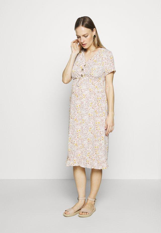 MLCAMMI DRESS - Korte jurk - snow white
