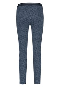 Gerry Weber - Pantalon classique - dark navy/off white/vivid blue - 4