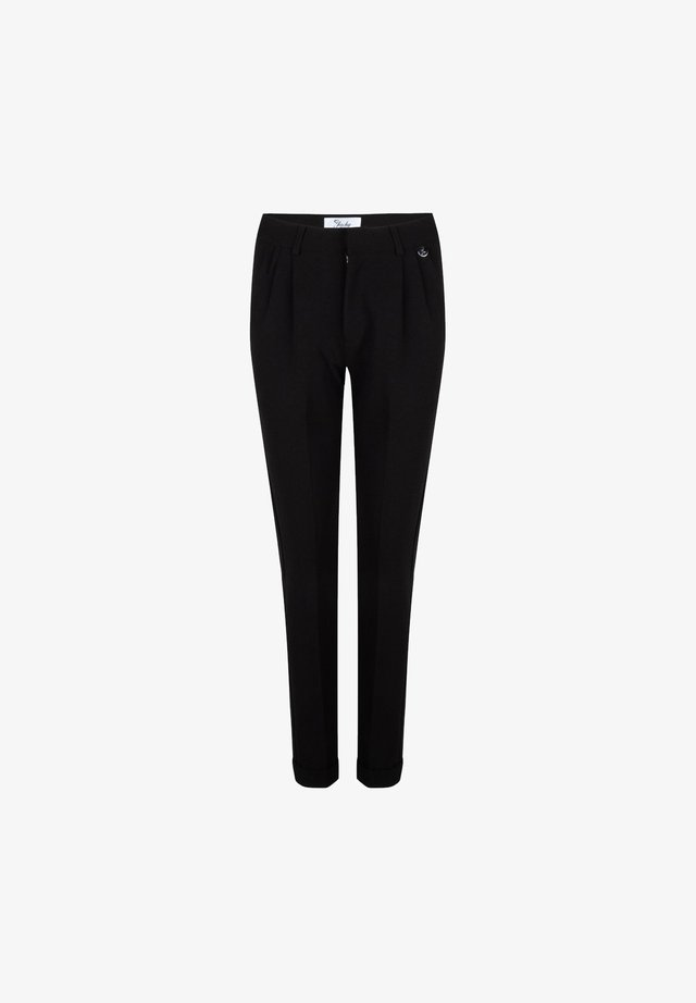 TRAVELLER BROEK - Chino - black