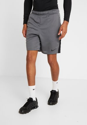 SHORT TRAIN - Pantalón corto de deporte - iron grey/black