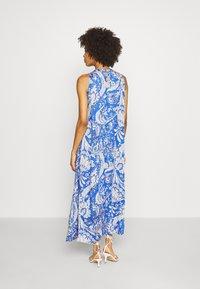 Emily van den Bergh - DRESS - Maxikjole - blue/white - 2