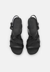 Camper - KAHM - Sandaalit nilkkaremmillä - black - 3