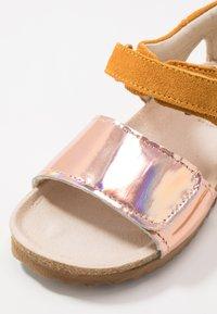 Shoesme - BIO - Sandals - mirror/ochre - 2