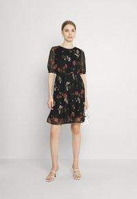 Vero Moda - VMKEMILLA  - Day dress - black/sallie - 1