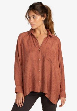 ISABEL  - Button-down blouse - bronze