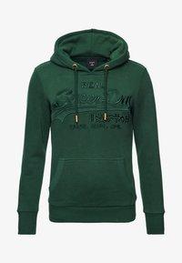 Superdry - VINTAGE LOGO TONAL EMBROIDERED - Hoodie - enamel green - 3