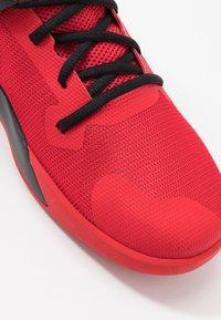 Nike Performance - AIR MAX IMPACT - Basketball shoes - university red/white/black - 5