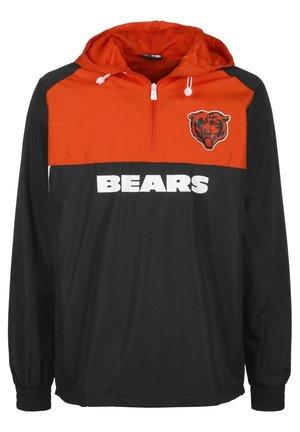 NFL CHICAGO BEARS COLOUR BLOCK WINDBREAKER HERREN - Club wear - navy/orange