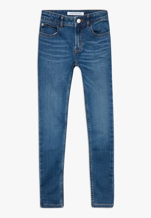 SUPER SKINNY PASS - Jeans Skinny Fit - blue denim