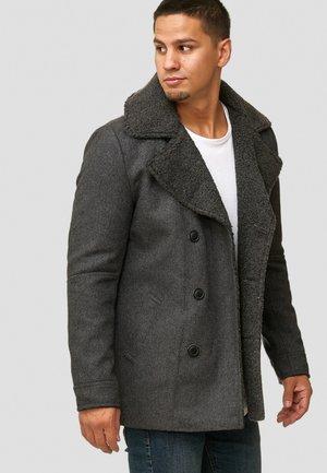 BASIRE - Classic coat - raven
