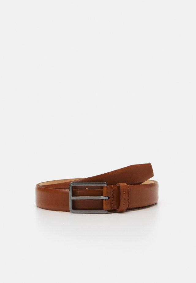 SQUARE BUCKLE  - Pásek - brown