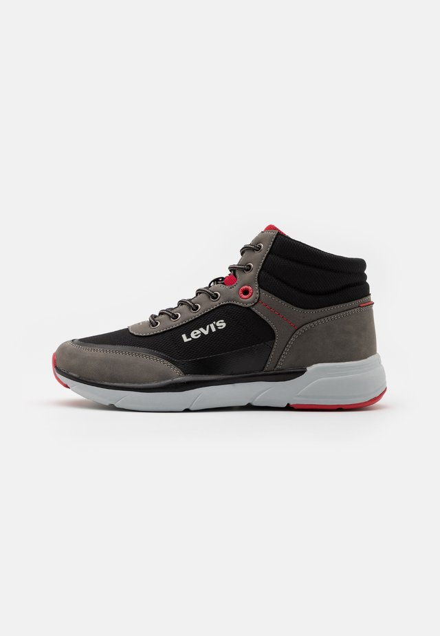 PARRY MID - High-top trainers - grey/black