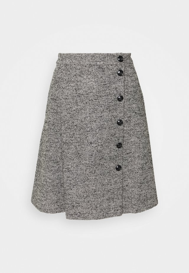 BROCHURE - A-line skirt - medium grey