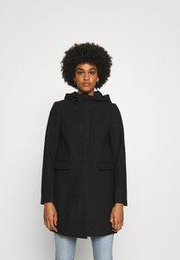 ONLY - ONLOLIVIA HOODED COAT - Classic coat - black - 0