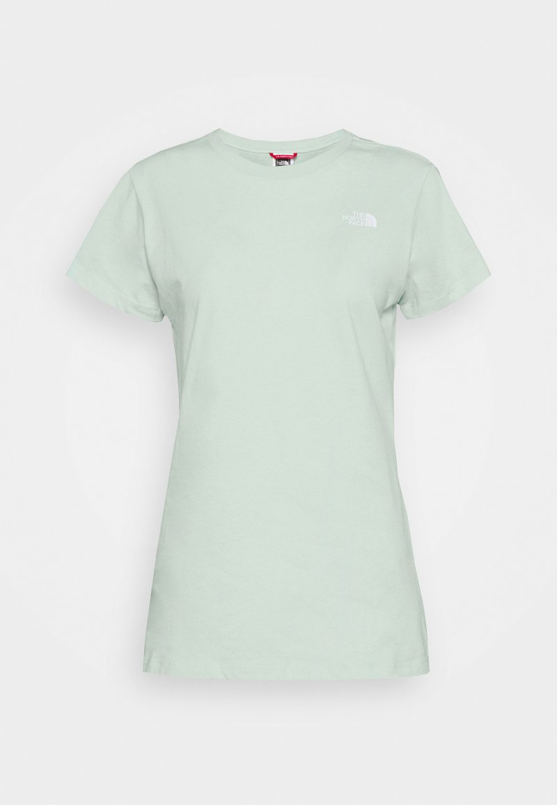 The North Face - GRAPHIC TEE - Printtipaita - misty jade