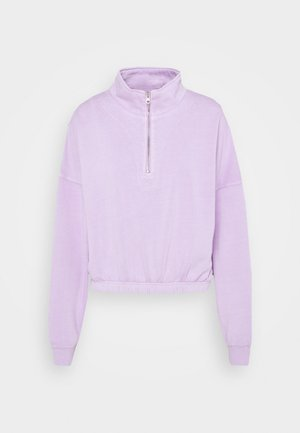 PARIS ZIP  - Sweater - frosty lilac
