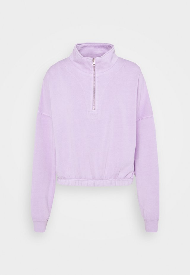 PARIS ZIP  - Sweatshirt - frosty lilac