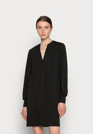 MALLI DRESS - Jersey dress - black deep