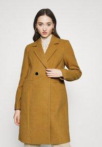 Vero Moda - VMRAMBLA CALA - Zimní kabát - tobacco brown - 0