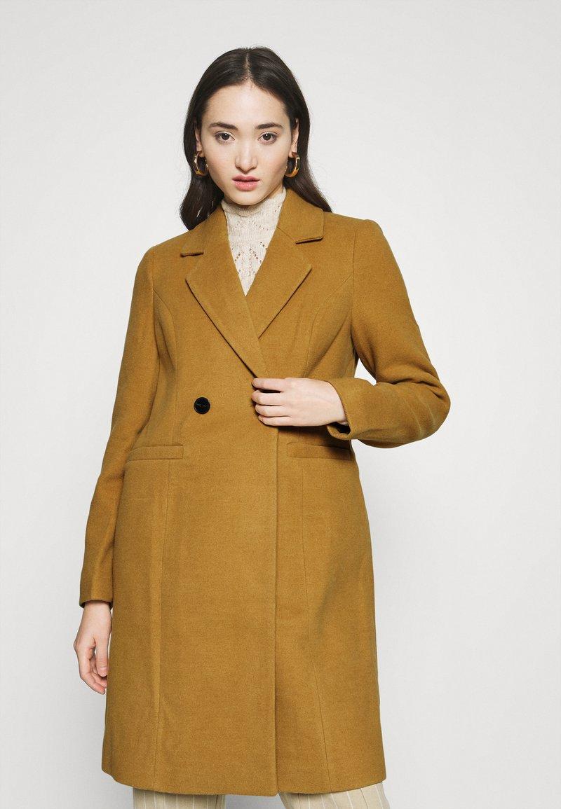 Vero Moda - VMRAMBLA CALA - Zimní kabát - tobacco brown