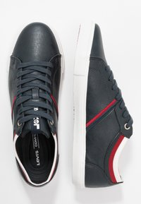 Levi's® - WOODS COLLEGE - Trainers - navy blue - 3
