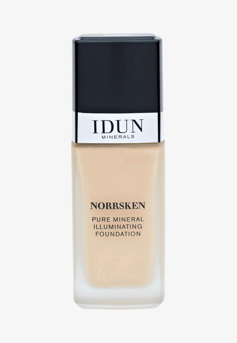 IDUN Minerals - LIQUID FOUNDATION - Foundation - siri - medium neutral