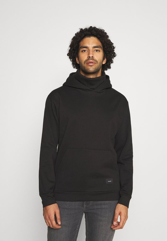 SNOOD HOOD - Luvtröja - black