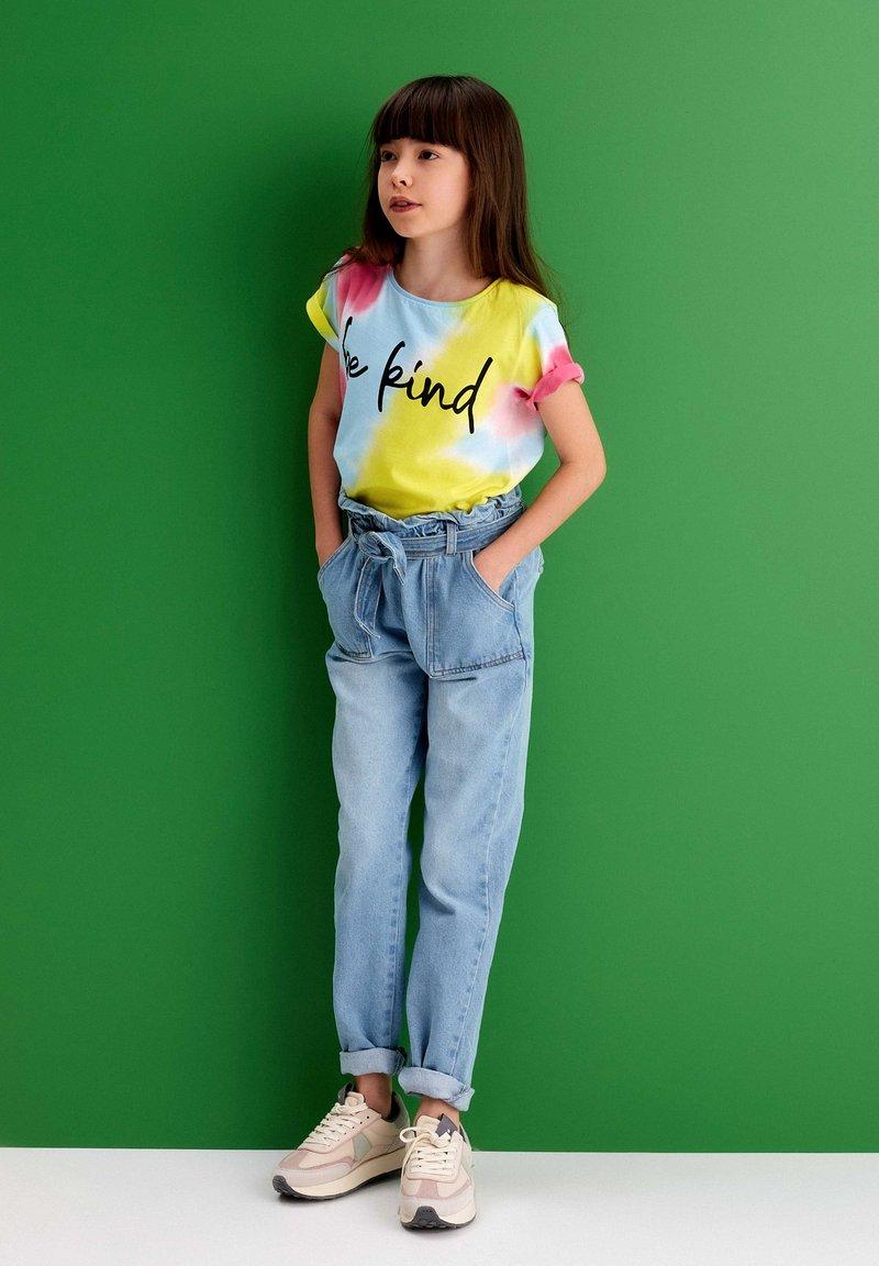 MINOTI - Slim fit jeans - blue denim