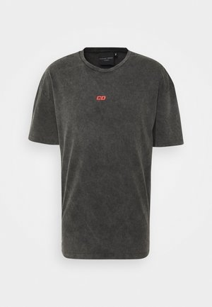 FUTURES TEE - Print T-shirt - washed black