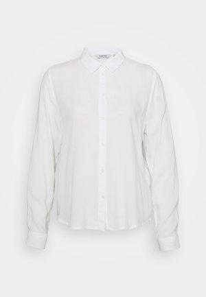 BYIDRA - Button-down blouse - off white