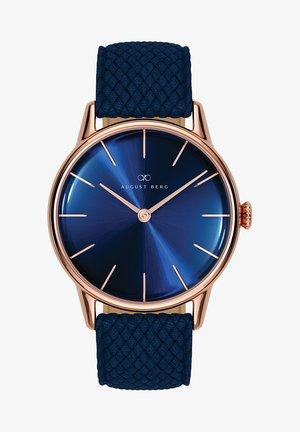 UHR SERENITY DEEP BLUE BLUE PERLON 32MM - Horloge - sunray blue