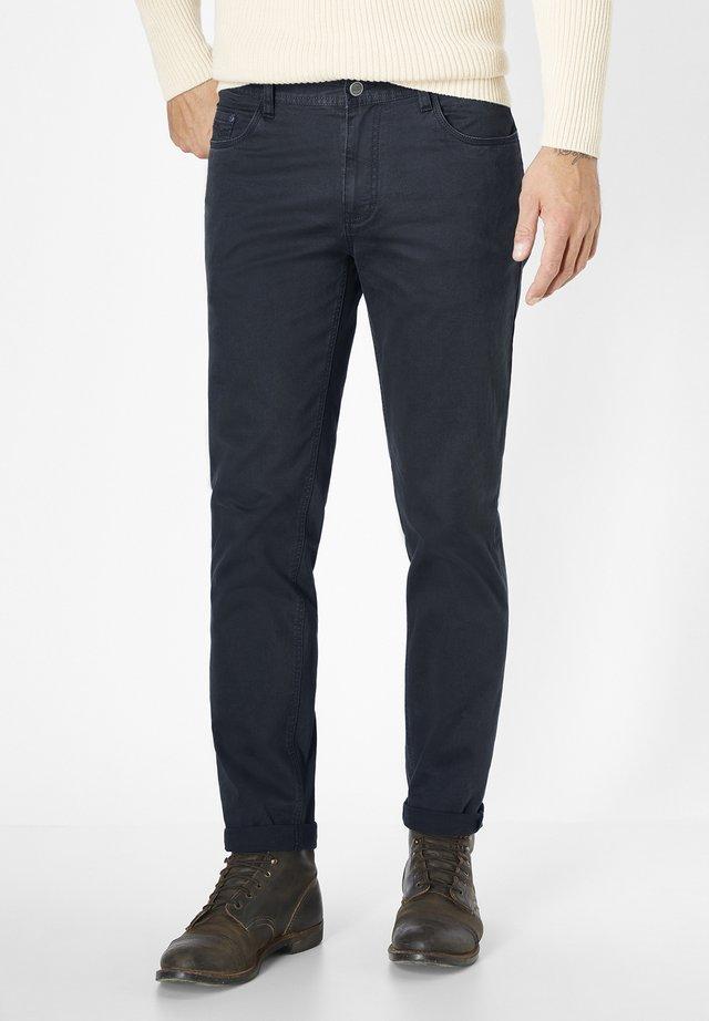 STRETCH 5-POCKET MILTON - Straight leg jeans - navy