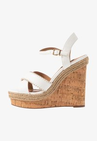River Island Wide Fit - High heeled sandals - white - 1