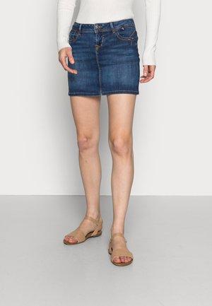 ADREA - Denimová sukně - blue denim