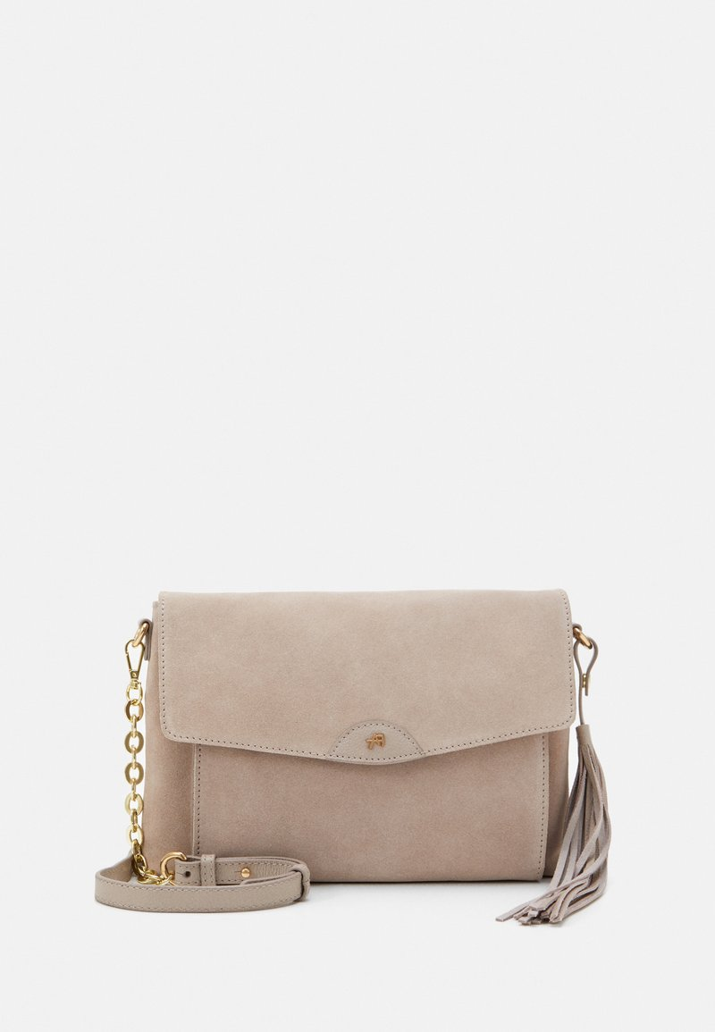 Anna Field - LEATHER - Across body bag - taupe
